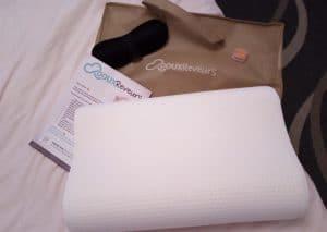 Un oreiller ergonomique de qualité